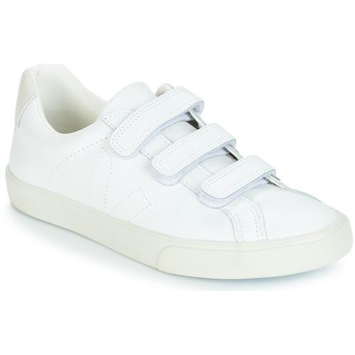 a4844e025d Veja 3 - LOCK Blanc - Chaussure pas cher avec Shoes.fr ...