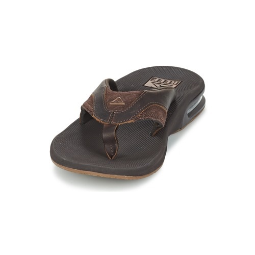 Reef LEATHER FANNING Marron