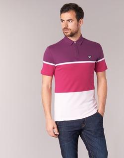 Vêtements Homme Polos manches courtes Armani jeans MARAFOTA Violet / Rouge / Blanc