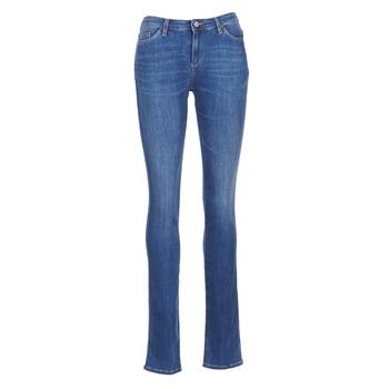 Vêtements Femme Jeans droit Armani jeans HOUKITI Bleu
