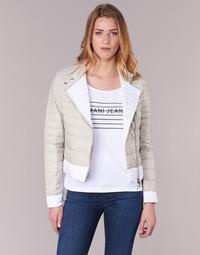 Vêtements Femme Doudounes Armani jeans BEAUJADO Beige / Blanc