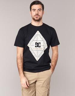 Vêtements Homme T-shirts manches courtes DC Shoes LONG DAY SS Noir