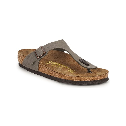Chaussures Femme Tongs Birkenstock GIZEH Stone