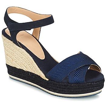 Chaussures Air max tnFemme Sandales et Nu-pieds Castaner VERONICA Marine / Noir