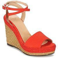 Chaussures Air max tnFemme Sandales et Nu-pieds Castaner ADELA Rouge