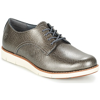 Chaussures Femme Derbies Timberland LAKEVILLE OX Gris