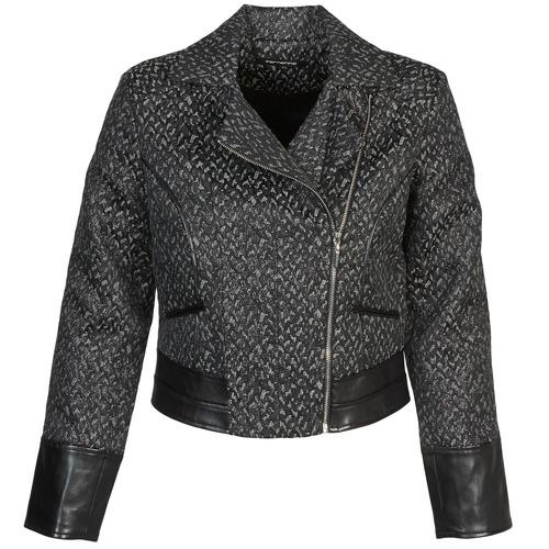 Vêtements Femme Blousons Fornarina SELINE Gris / Noir
