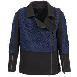 Vêtements Femme Blousons Eleven Paris FLEITZ Noir / Bleu