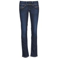 Vêtements Femme Jeans droit Pepe jeans VENUS Bleu H06