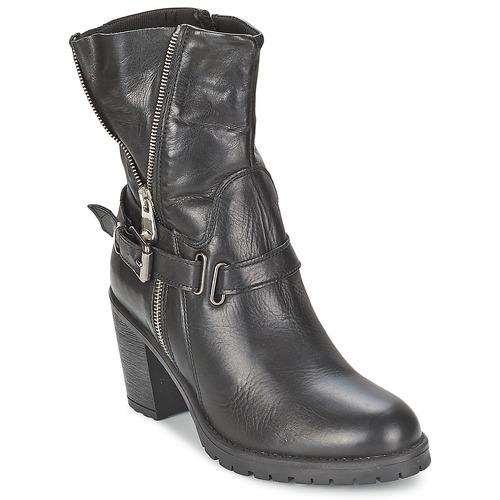 Chaussures Femme Bottines Casual Attitude FANYE Noir