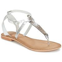 Chaussures Femme Sandales et Nu-pieds Vero Moda VMANNELI LEATHER SANDAL Argenté