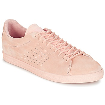 Chaussures Air max tnFemme Baskets basses Le Coq Sportif CHARLINE NUBUCK Rose