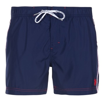 Vêtements Homme Maillots / Shorts de bain U.S Polo Assn. AXEL SWIM TRUNK MED Marine
