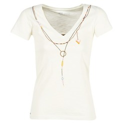 Vêtements Femme T-shirts manches courtes Oxbow TWIN Blanc