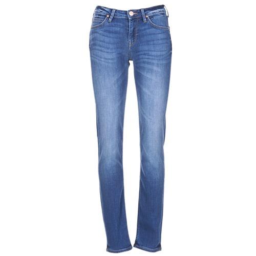 Vêtements Femme Jeans slim Lee ELLY Bleu Medium