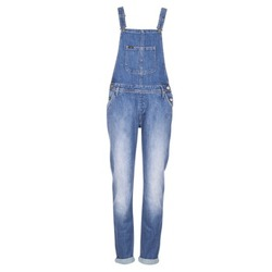 Vêtements Femme Combinaisons / Salopettes Lee RELAXED BIB Bleu Clair