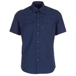 Vêtements Homme Chemises manches courtes G-Star Raw 3301 SHIRT Marine