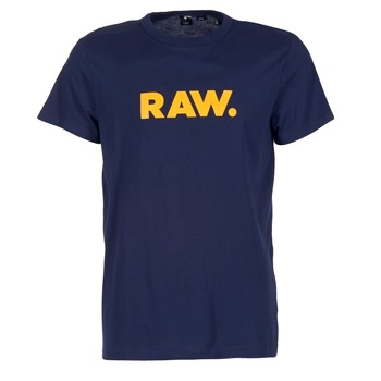Vêtements Homme T-shirts manches courtes G-Star Raw RAW DOT Marine