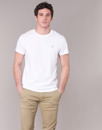 Vêtements Homme T-shirts manches courtes Gant THE ORIGINAL T-SHIRT Blanc