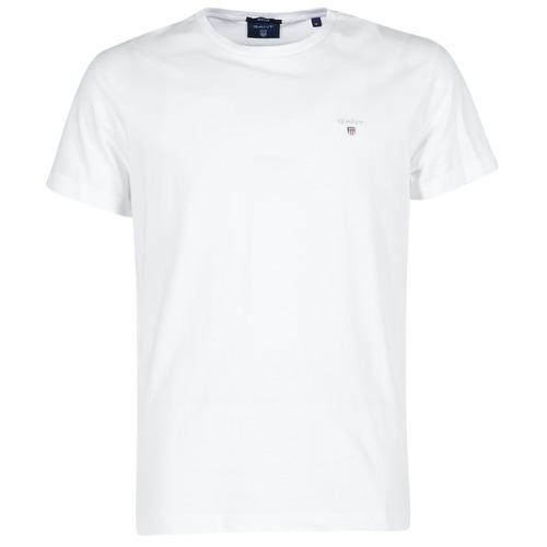 Vêtements Homme T-shirts manches courtes Gant THE ORIGINAL T-SHIRT Blanc