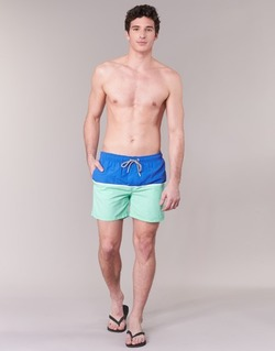 Vêtements Homme Maillots / Shorts de bain Gant CUT & SEWN SWIM SHORT Vert / Marine