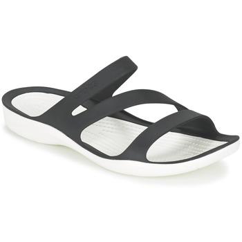 Chaussures Femme Sandales et Nu-pieds Crocs SWIFTWATER SANDAL W Noir / Blanc
