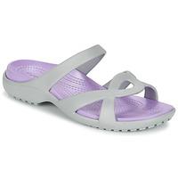 Chaussures Femme Sandales et Nu-pieds Crocs MELEEN TWIST Gris