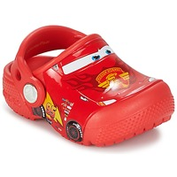 Chaussures Enfant Sabots Crocs CROCS FUNLAB LIGHT CARS 3 MOVIE CLOG Rouge