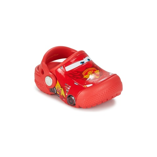 Chaussures Garçon Sabots Crocs Crocs Funlab Light CARS 3 Movie Clog Rouge
