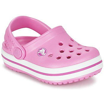 Chaussures Air max tnFille Sabots Crocs Crocband Clog Kids Rose