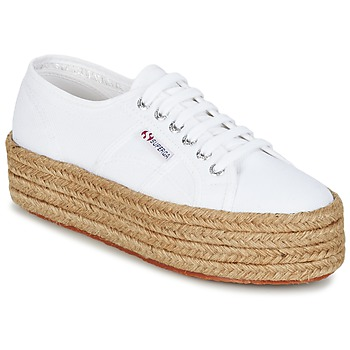 Chaussures Air max tnFemme Baskets basses Superga 2790 COTROPE W Blanc