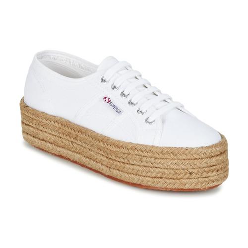 Chaussures Femme Baskets basses Superga 2790 COTROPE W Blanc