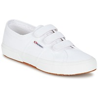 Chaussures Baskets basses Superga 2750 COT3 VEL U Blanc