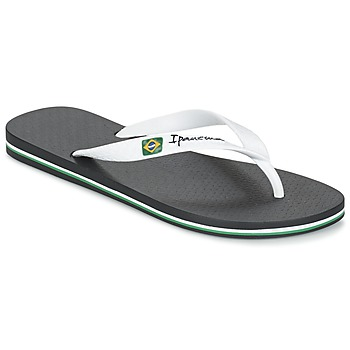 Chaussures Homme Tongs Ipanema CLASSICA BRASIL II Noir / Blanc