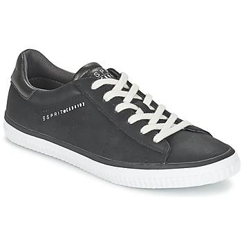 Chaussures Femme Baskets basses Esprit RIATA LACE UP Noir