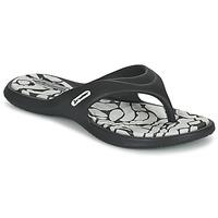 Chaussures Femme Tongs Rider ISLAND VIII Noir / Gris