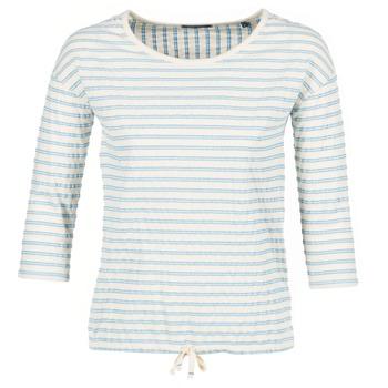 Vêtements Femme Tops / Blouses Marc O'Polo GRASSIRCO Blanc / Bleu