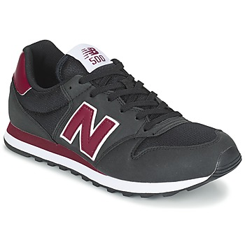Chaussures Baskets basses New Balance GM500 Noir / Bordeaux