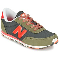 Chaussures Enfant Baskets basses New Balance KL410 Vert / Gris / Orange