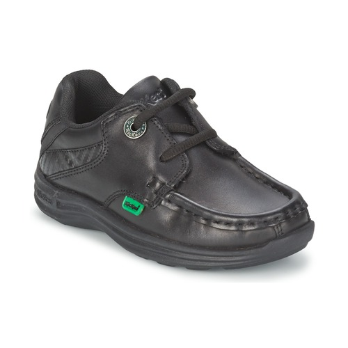Chaussures Enfant Chaussures bateau Kickers REASON LACE Noir