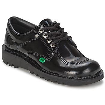 Chaussures Femme Richelieu Kickers KICK LO Noir
