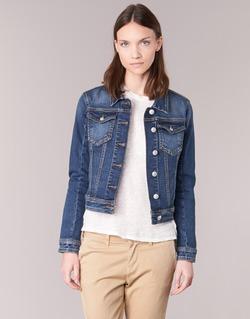 Vêtements Femme Vestes en jean Meltin'pot JUSTINE Bleu brut
