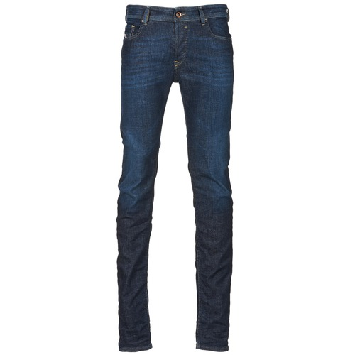 Vêtements Homme Jeans slim Diesel SLEENKER Bleu fonc'