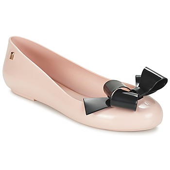 Chaussures Air max tnFemme Ballerines / babies Melissa SPACE LOVE IV Rose / Noir