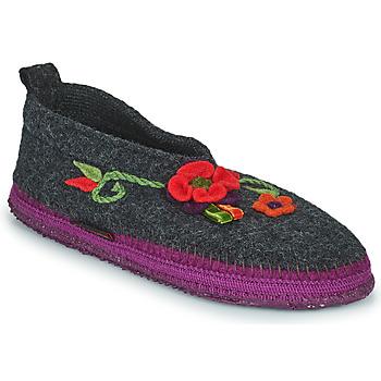 Chaussures Femme Chaussons Giesswein TANGERHÜETTE Anthracite