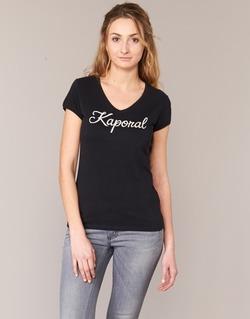 Vêtements Femme T-shirts manches courtes Kaporal NIAM Noir