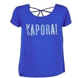 Vêtements Femme T-shirts manches courtes Kaporal NIZA Bleu