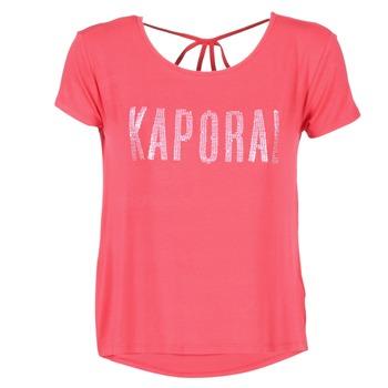 Vêtements Femme T-shirts manches courtes Kaporal NIZA Rose