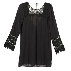 Vêtements Femme Robes courtes Billabong OPEN HORIZON DRESS Noir