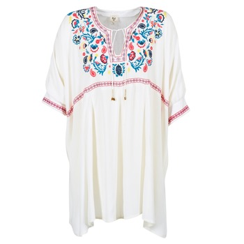 Vêtements Femme Robes courtes Billabong MYSTIC DRESS Ecru